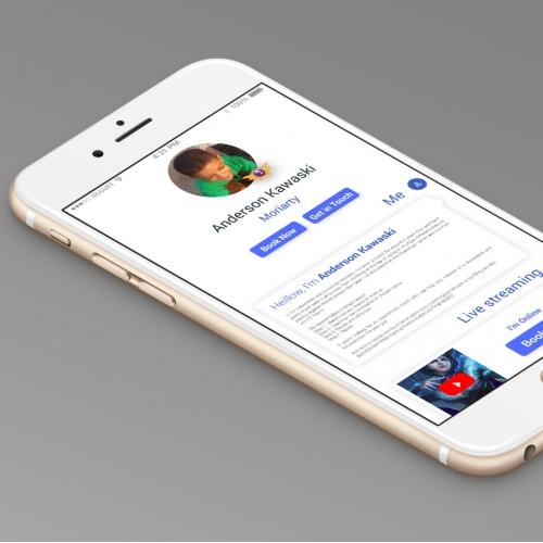 mobile app ui design
